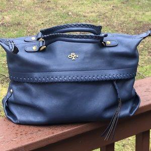 orYANY blue leather bag